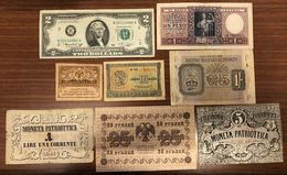 Venezia 5+1 Lire 1848 Russia 20 1917 + 25 1918 + Argentina 1 1947 + Usa 2 1976 Bma 1 Shillig + Greece 10 1940 LOTTO 1225 - [ 4] Emissions Provisionelles