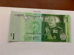 Tonga 1 Pa'anga Crispy Banknote 2009 - Tonga