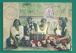 OCEANIE - TAHITI - COLLECTION DANIEL PALACZ - REPRODUCTION DE CARTE ANCIENNE - UTE TAHITI - CONCERT TAHITIEN - Tahiti