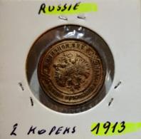 RUSSIE  --  2 KOPEKS 1913 - Rusland