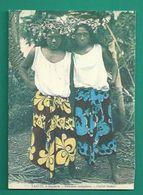 OCEANIE - TAHITI - COLLECTION DANIEL PALACZ - REPRODUCTION DE CARTE ANCIENNE - FEMMES INDIGÈNES - NATIVE WOMEN - Tahiti