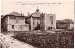 CPA 58 - CLAMECY (Nièvre) - 44. Nouvel Hôpital-hospice. Bâtiment Principal - Clamecy