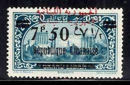 Grand Liban Maury N° 106C Belle Variété Surcharge Arabe Doublée Neuf ** MNH. TB. A Saisir! - Unused Stamps