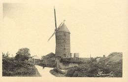 - Maine Et Loire -ref-A959- Doué La Fontaine - Le Moulin à Vent - Moulins à Vent - Carte Bon Etat- - Doue La Fontaine