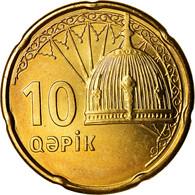 Monnaie, Azerbaïdjan, 10 Qapik, Undated (2006), SPL, Brass Plated Steel, KM:42 - Azerbaïjan