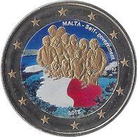MALTE - 2 Euros Commémorative Couleurs - Autonomie Gouvernementale 2013 - Malta