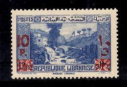 Grand Liban Maury N° 182b Belle Variété Surcharge Rouge Neuf Neuf ** MNH. TB. A Saisir! - Unused Stamps