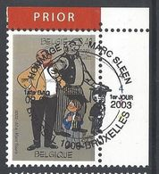 Nr 3144 Eerste Dag Afstempeling - Belgium