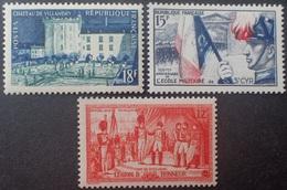 R1949/2041 - 1954 - DIVERS - N°995 à 997 NEUFS** - France