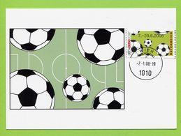 Österreich,  2008,   Fussball - EM,  2006 - 1945-.... 2. Republik