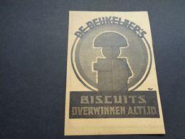 Origineel Knipsel ( 4257 ) Uit Tijdschrift :  Reclame  Publicité   Biscuit De Beukelaer - Altri