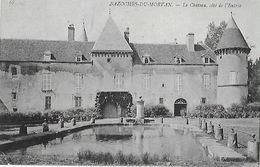 58 - NIEVRE - BAZOCHES Du MORVAN -Le Château, Côté De L'Entrée - Bazoches