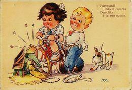 518 - Italie  -  Illustrateur Mathurin MEHEUX  -  Patapum ! ! !  Fido Si Cruccia Demolita è La Sua Cuccia . Monogramme - Meheut