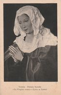 Cartolina - Postcard /  Viaggiata - Sent /   Luca Di Leyda - La Vergine Orante. - Peintures & Tableaux