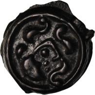Monnaie, Suessions, Potin, SUP, Potin, Delestrée:530 - Galle