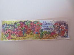 Kinder Surprise Deutch 1997 :  BPZ 642711 - Instructions