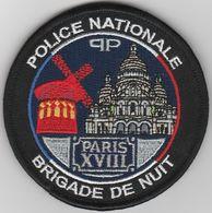 Écusson Police BDN Paris 18 - Police