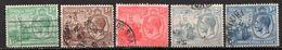 TRINITE & TOBAGO - (Colonie Britannique) - 1922-28 - N° 110 à 114 - (Lot De 5 Valeurs Différentes) - (George V) - Trindad & Tobago (...-1961)