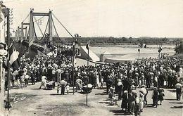 - Maine Et Loire -ref-A953- Montjean - Inauguration Pont Suspendu Sur La Loire - Inaugurations Ponts - - Other Municipalities