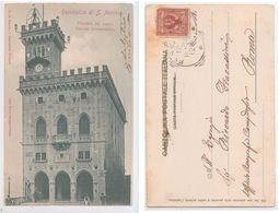 Repubblica Di S.Marino - Facciata Del Nuovo Palazzo Governativo, 1901 - San Marino