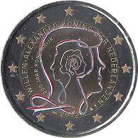 PAYS BAS - 2 Euros Commémorative Couleurs - 200 Ans De La Souveraineté Des Pays-Bas 2013 - Pays-Bas