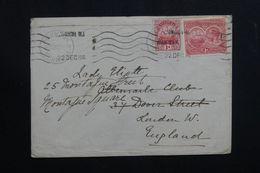 BERMUDES - Enveloppe De Hamilton Pour Londres En 1920, Affranchissement Plaisant  - L 62580 - Bermudes
