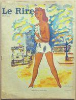 LE RIRE N° 9 Nouvelle Série 1/09/1946 : Aldebert, Barberousse, Bellus, Bil, Lucien Boucher, Peynet, Picq, Van Moppès... - Journaux - Quotidiens