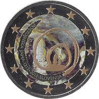 SLOVAQUIE - 2 Euros Commémorative Couleurs - La Grotte De POSTOJNA 2013 - Slovaquie