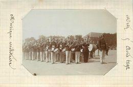 METZ  - Musique Militaire, 22 Août 1892 (photo Format 10,7cm X 7,6 Cm Environ). - Plaatsen
