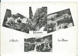 AMÉLIE -LES-BAINS   (  PYRÉNÉES ORIENTALES ) .... SOUVENIR......MULTI-VUES - Gruss Aus.../ Gruesse Aus...