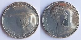 Canada 1 Dollar, 1967 KM # 70, Schön # 72 100th Anniversary Of Canada - Canada