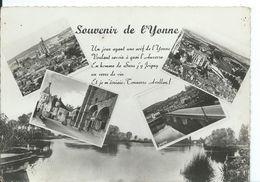 SOUVENIR DE L' YONNE .... MULTI-VUES - Gruss Aus.../ Gruesse Aus...