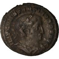 Monnaie, Constantin I, Follis, 309, Lyon - Lugdunum, TB, Cuivre, RIC:VI 310 - 7. El Impero Christiano (307 / 363)