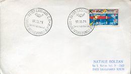 55140  Italia, Special Postmark Cagliari 1971 - Raduno Intersezionale Alpini - Italie