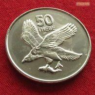 Botswana 50 Thebe 2001 KM# 29 *V2 Botsuana - Botswana