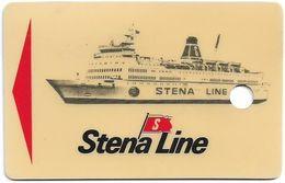 Sweden - Stena Line - Magnetic Card, Punched Used - Zweden