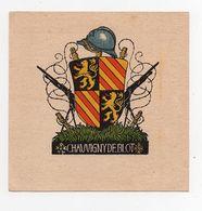 Ex-libris Héraldique Chauvigny De Blot 10cm X 10cm - Ex Libris