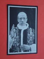 Paus Pius XII Geboren Te Rome 1876 En Overleden Te Casel Gandolfo 1958       (2scans) - Religion & Esotérisme