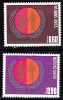 Nations Unies Genève  48 à 49 ** - Office De Genève