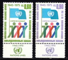 Nations Unies Genève  50 à 51 ** - Office De Genève
