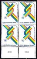 Nations Unies Genève  56 ** En Bloc De 4 - Office De Genève