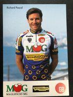 Pascal Richard - MG Technogym - 1994 - Carte / Card - Cyclists - Cyclisme - Ciclismo -wielrennen - Radsport