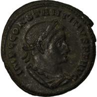 Monnaie, Nummus, 307, Lyon - Lugdunum, TTB, Billon - 7. El Impero Christiano (307 / 363)