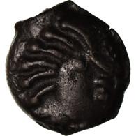 Monnaie, Sénons, Potin, Sens, TTB+, Potin, Delestrée:2645 - Galle