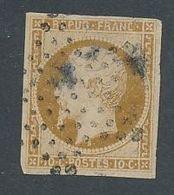 DP-131: FRANCE: Lot Avec N°9 Obl Signé Calves, Pt Défaut En Haut - 1852 Louis-Napoleon