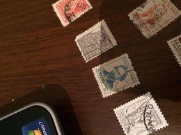 BRASILE UOMINI ILLUSTRI AZZURRO - Postzegels