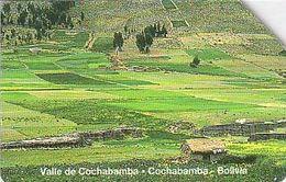 Bolivien - Bolivia - Entel - Urmet 11 - Bolivian Landscapes - Cochabamba Valley 31.12.99 - Bolivie