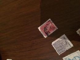 BRASILE UOMINI ILLUSTRI ROSSO - Postzegels