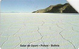 Bolivien - Bolivia - Entel - Urmet 12 - Bolivian Landscapes - Salt Pans Of Uyuni - 31.12.99 - Bolivie