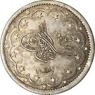 Monnaie, Turquie, Abdul Mejid, 20 Kurush, 1855, Qustantiniyah, TTB, Argent - Turchia